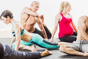 Пілатес і йога. Зайняття для вагітних